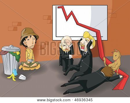 Bankrupt Changing Business Owner Or Ceo Into Beggar