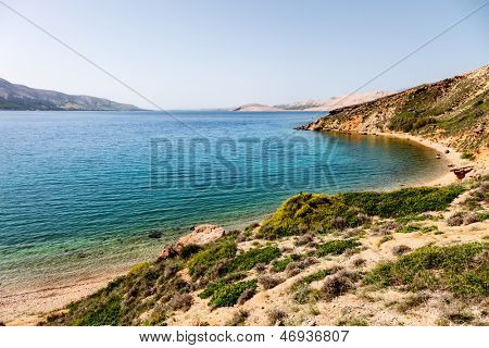 Cape and islands in Croatia - nature vacations background