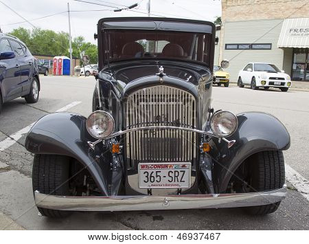 1931 Chrysler Plymouth Car Front View