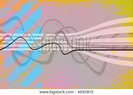 Funky Grunge Background