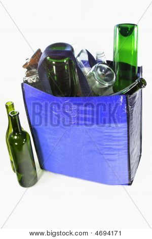 Bottles For Recycling - Vertical Orientation.