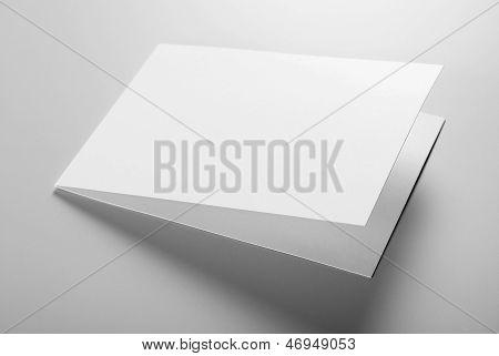 Blank stationery: postcard
