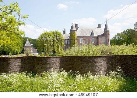 Castle Of Zuylen In Spring