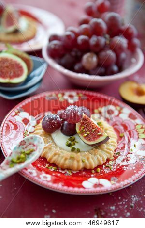 Little Tarts With Fresh Fruits