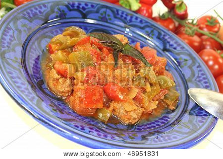 Freshly Cooked Tagine Kefta