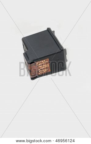 Ink Cartridge On White Background
