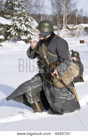 Soviet-finnish War 1939-1940: Finnish Soldier