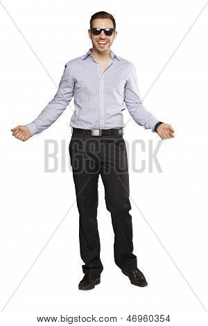 Confident Fashionable Man In Suite
