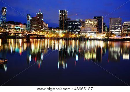 Beautiful Portland Night