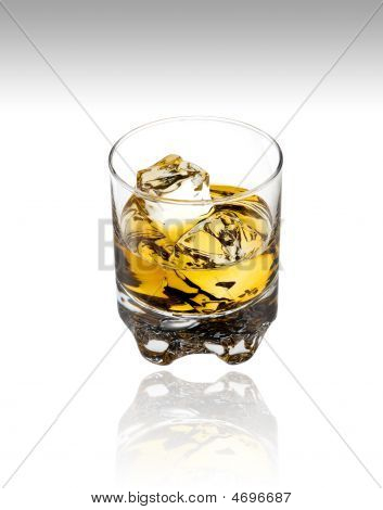 Scotch On White With Clipping Path