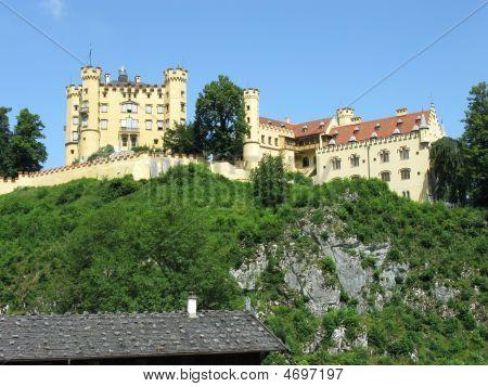 Castle Hohenschwangau. Bavaria, Germany