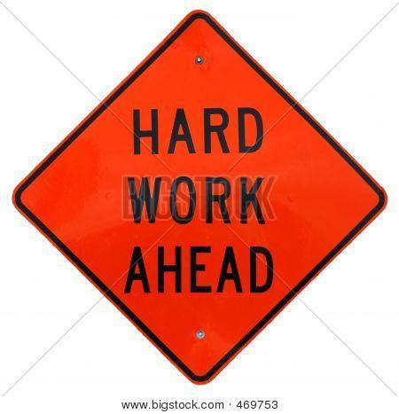 Harte Arbeit vor uns
