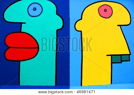 Paintings by Thierry Noir