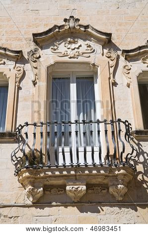 Maresca Palace. Lecce. Puglia. Italy.