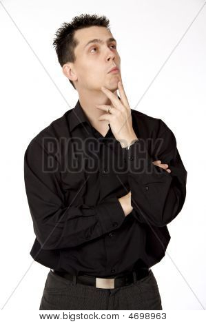 Thinking Guy