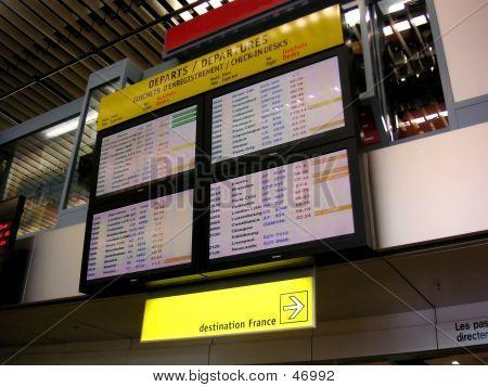 Airport Schedule Display