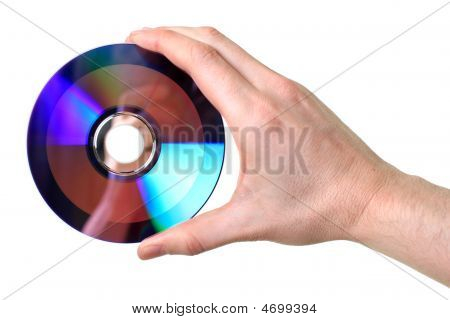 Hand Holding Disc