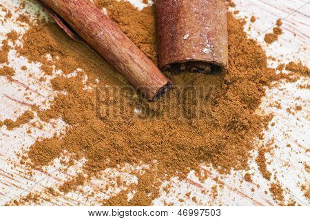 Pinch Of Ground Cinnamon