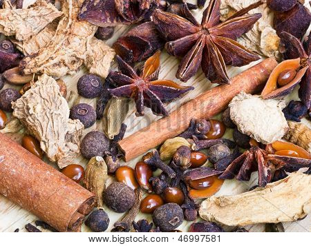 Different Spices For Mulled Wine