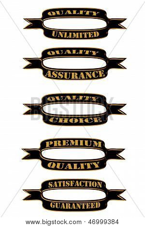Set Of Quality Ribbons