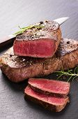 pic of ribeye steak  - beef steak - JPG