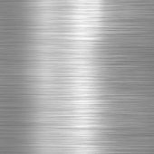 pic of titanium  - Aluminium brushed plate background or texture - JPG