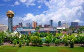 stock photo of observed  - Skyline of downtown Knoxville - JPG