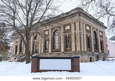 Historic Public Library In Saint Paul