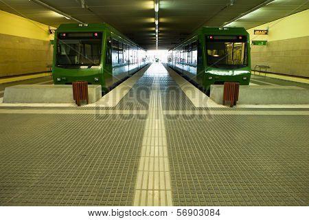Trains To Monserrat Mountain