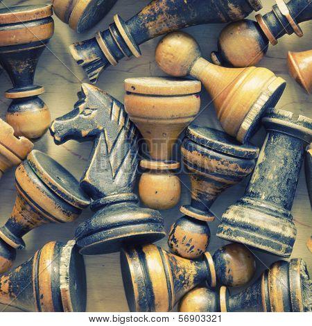 Vintage Chess Figures