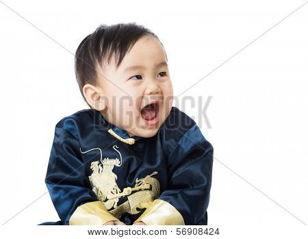 Chinese baby giggle