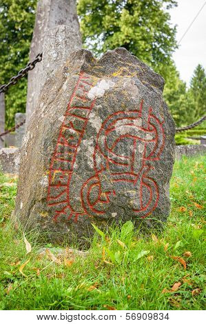 Rune Stone. Sweden