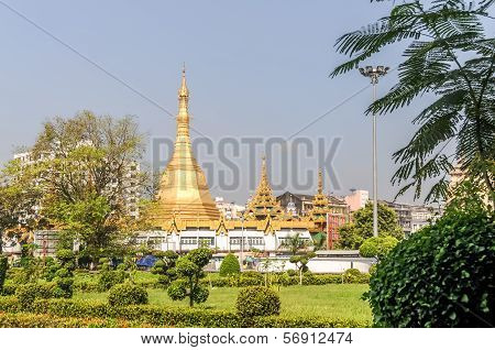 Sule Pagoda In Rangoon