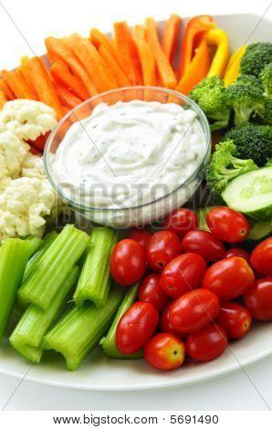 Verduras y Dip