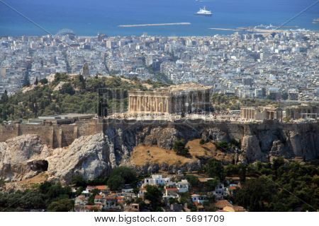 Athens, Greece, the Acropolis