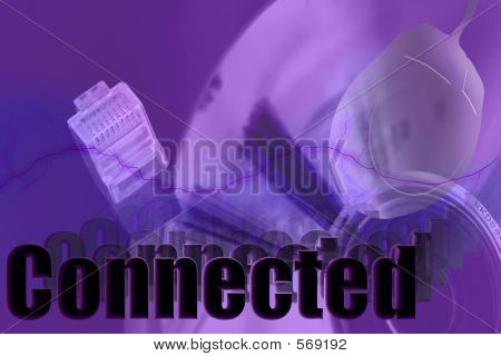 Connected 3 D Network