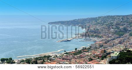 Coast Of Naples, Italy