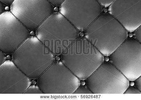 Dark Silver Leather