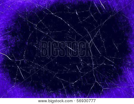 Grunge Purple Haos Abstract Background.