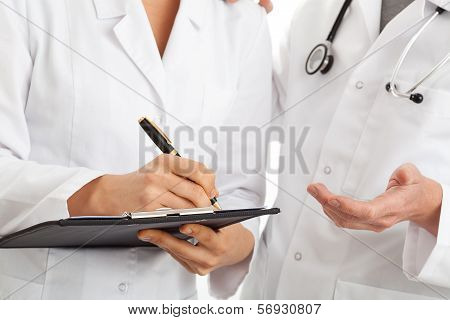 Conversation Of Two Doctors