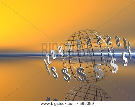 Mundo de dólar.