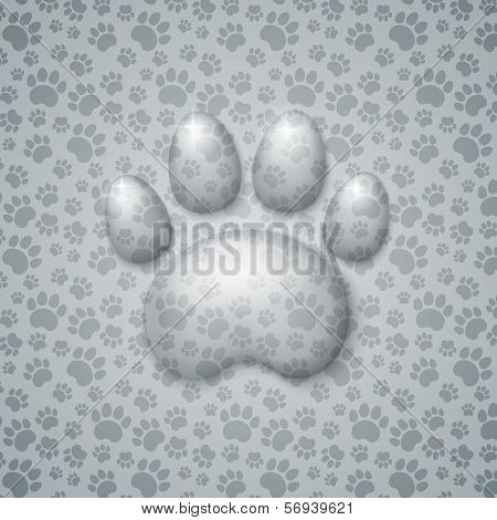 Trace Cat in the Form of Droplets Water