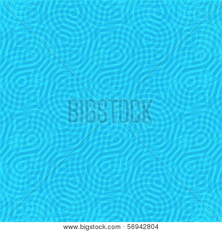 seamless pattern with meandering lines