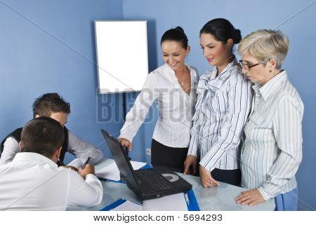Working Team People In Office