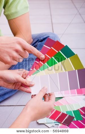 Choosing paint color