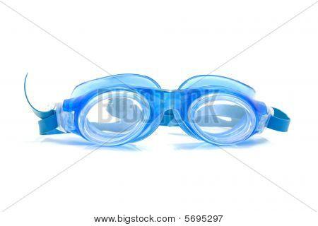 Blue Dive Goggles