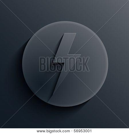 Vector creative modern icon. Design element. Eps 10
