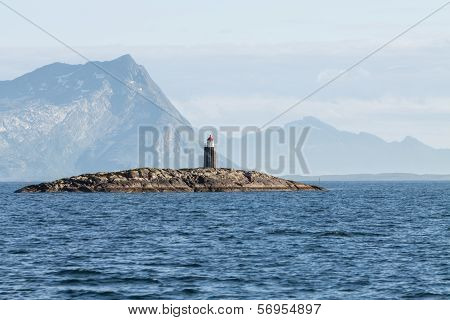 A Lighthouse In Northern Norway