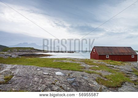 Seaside House In Northern Norway