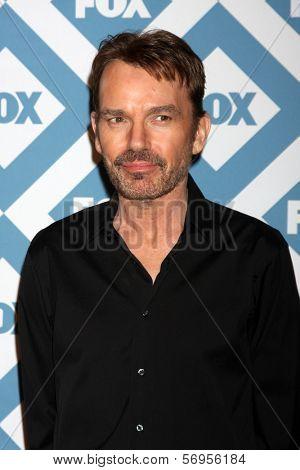 LOS ANGELES - JAN 13:  Billy Bob Thornton at the FOX TCA Winter 2014 Party at Langham Huntington Hotel on January 13, 2014 in Pasadena, CA